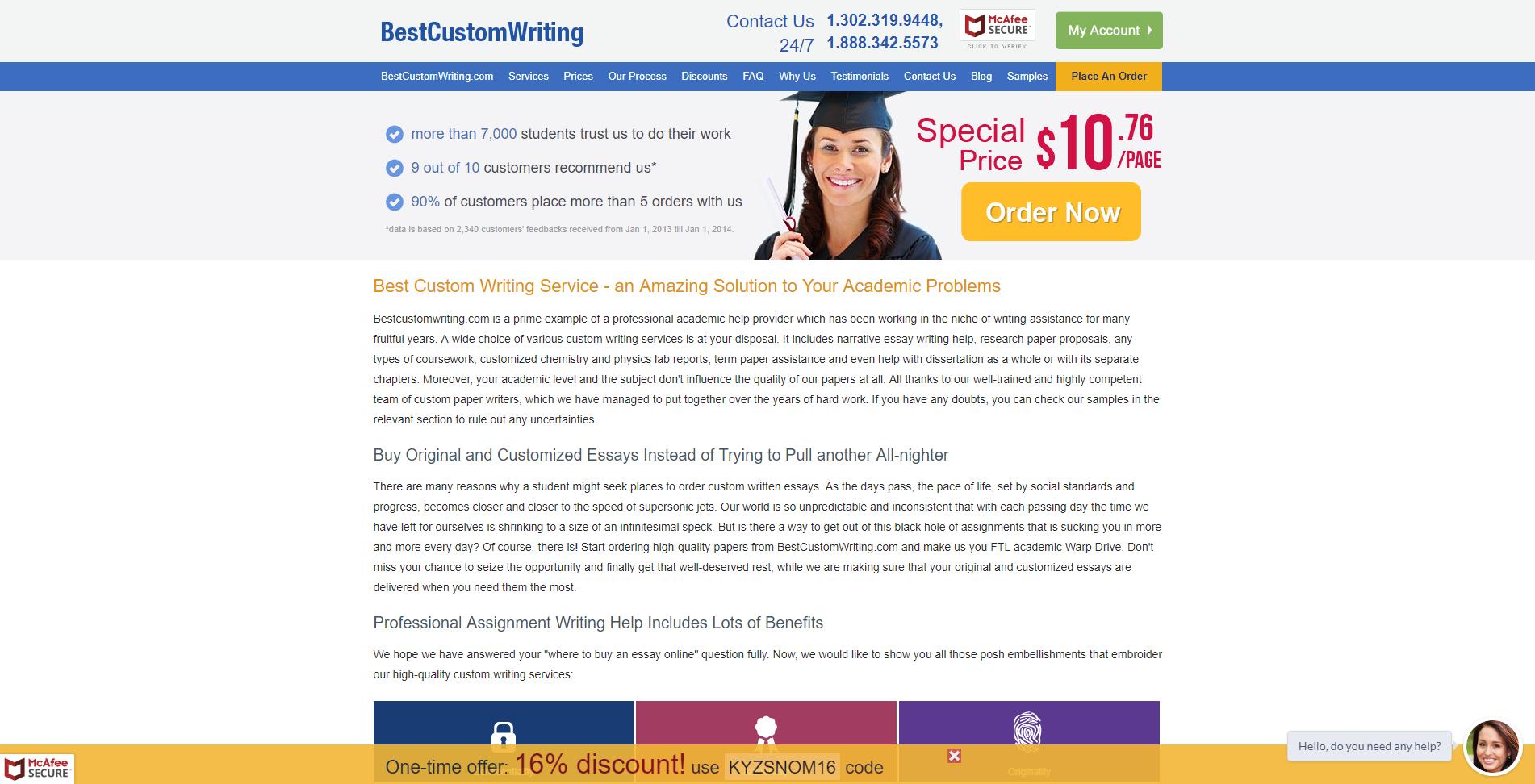 Bestcustomwriting.com - review