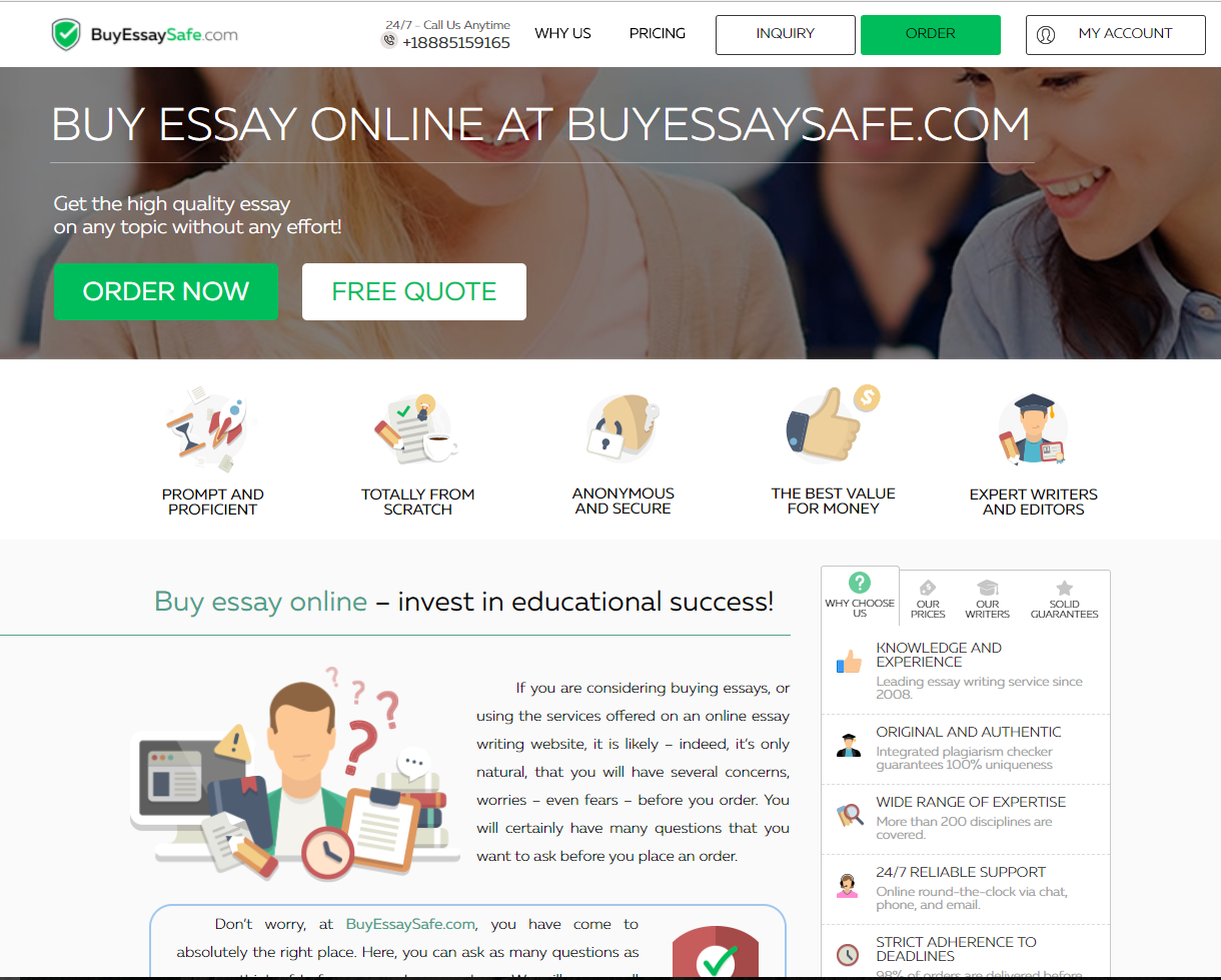 buyessaysafe.com - review